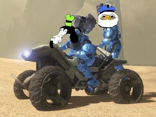 gooby,mongoose,master chief,video game,halo
