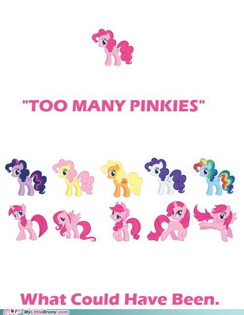 pinkie pie,mane six,too many pinkie pies