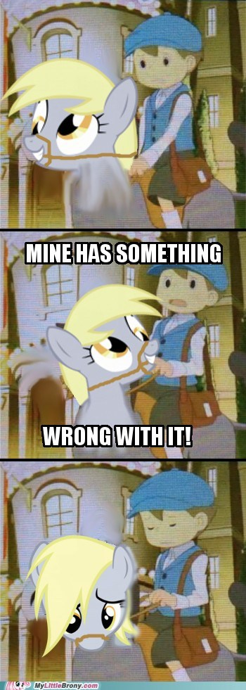 Luke,derpy hooves,professor layton,video games