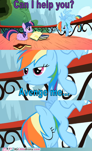 twilight sparkle comics overdramatic rainbow dash - 6774174720
