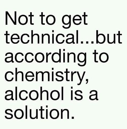 alcohol,Chemistry,solution