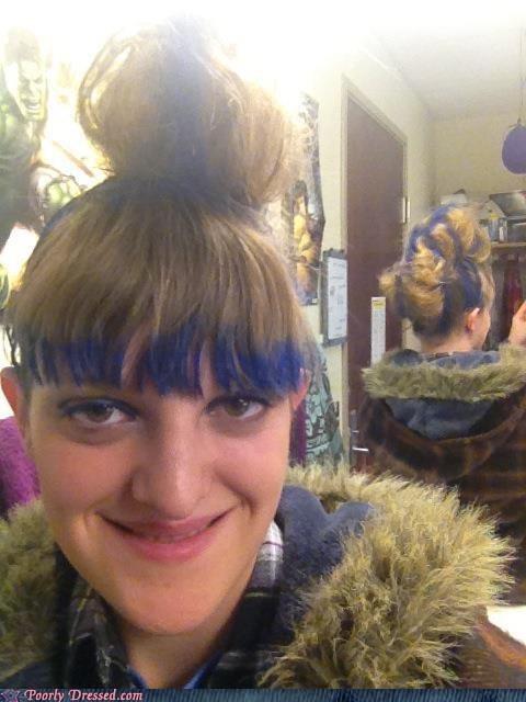 hair dye blue hair - 6774496256