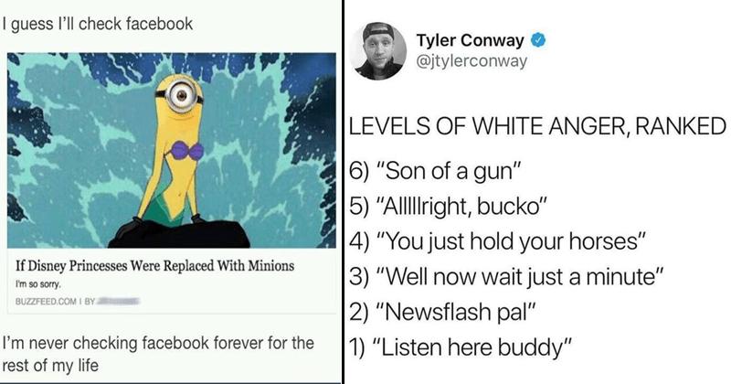 Funny random memes, random tweets, random posts.