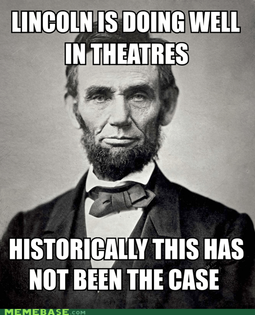 lincoln real life movies president america