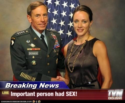 Breaking News - Important person had SEX!