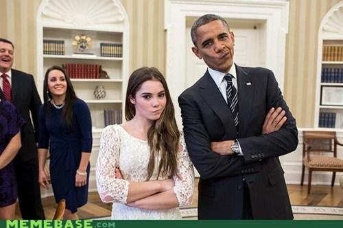 obama president not impressed america mckayla olympics - 6778827520