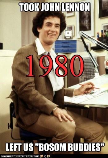 Bosom Buddies nostalgia actor tom hanks TV 80s funny