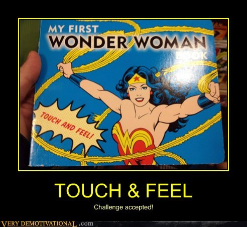 Sexy Ladies,touch,wonder woman,feel