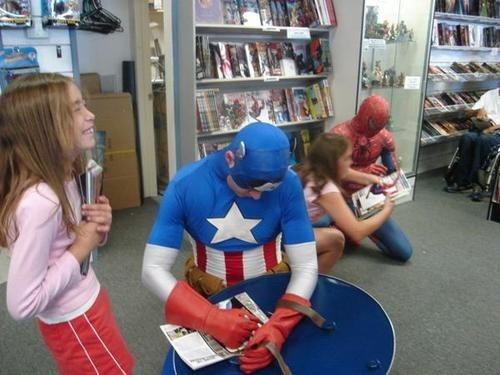 Spider-Man kids captain america - 6780676608