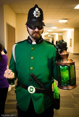 constable,Green lantern
