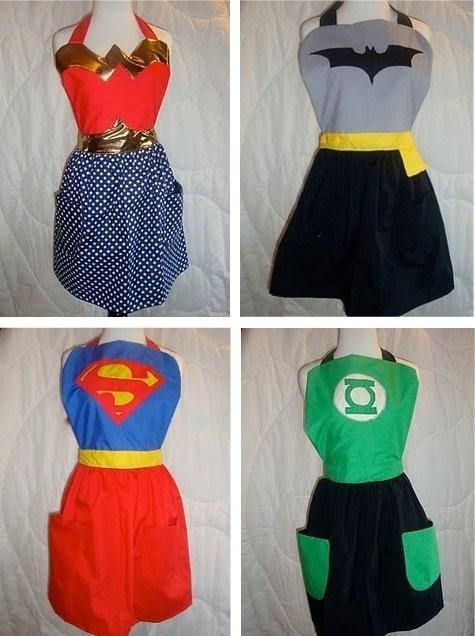 wonder woman kitchen batman Green lantern super girl - 6780989952