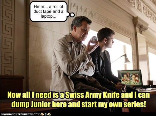 Walter Bishop John Noble Fringe peter bishop swiss army knife joshua jackson macgyver new series - 6781050880