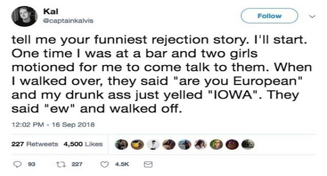 lol funny hilarious lolz twitter rejection tweets cheezcake dating - 6781189