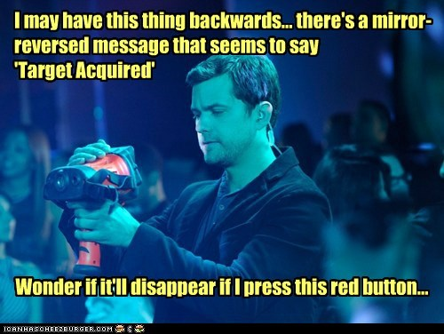 Fringe peter bishop bad idea reversed red button backwards joshua jackson message target acquired - 6781259776