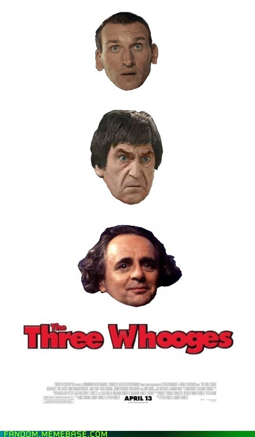 crossover,The Three Stooges,doctor who