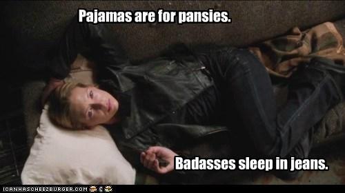Anna Torv Badass jeans Fringe Olivia Dunham pajamas - 6782816256