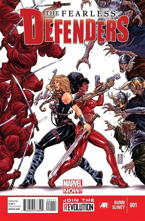 marvel new fearless defenders - 6782877952