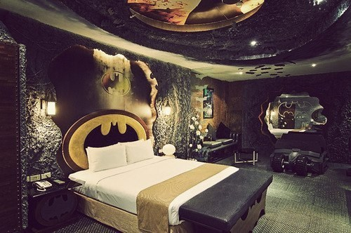 batman bedroom ladies - 6782914048