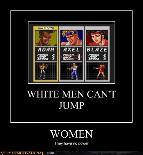 white men video games women