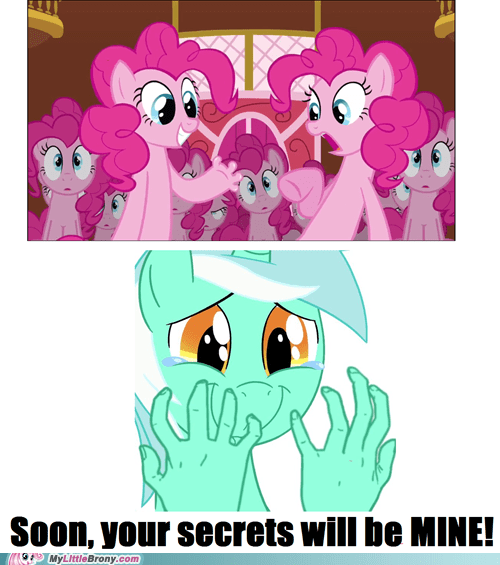 lyra hands too many pinkie pies - 6783872512