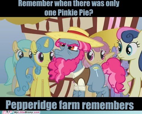 pinkie's hair pinkie pie pepperidge farm remembers
