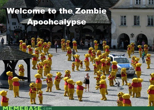 pooh zombie apocalypse winnie the pooh - 6784660736