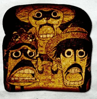 Fan Art toast one piece - 6784848640