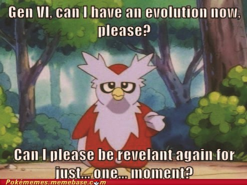 Sad useless evolution delibird - 6785103360