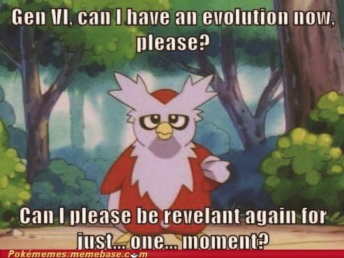 Sad useless evolution delibird - 6785103360