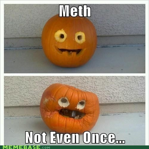 meth,jack o lanterns,pumpkins