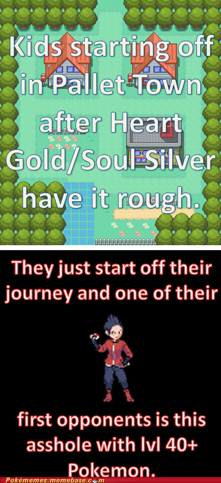 not fair,gold/silver,problems,pallet town