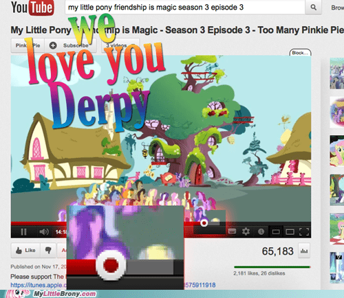 derpy hooves obsession found her too many pinkie pies omg - 6785242368