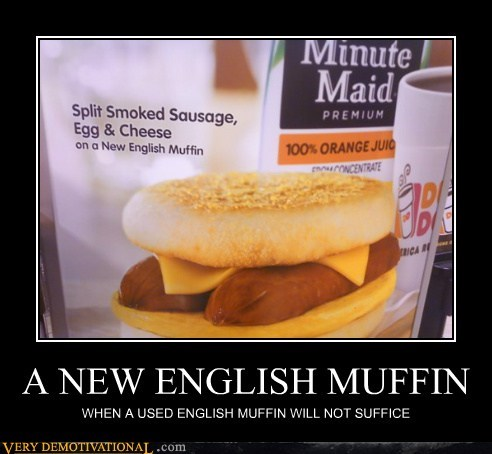 english muffin used breakfast