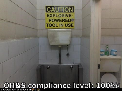 OH&S compliance level: 100%