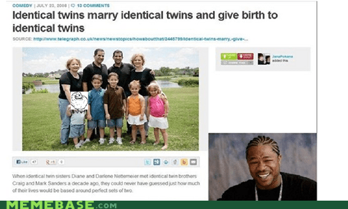 yo dawg parenting twins - 6786407424