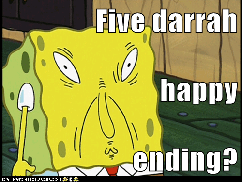 Five darrah happy ending?