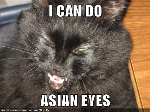 I CAN DO  ASIAN EYES