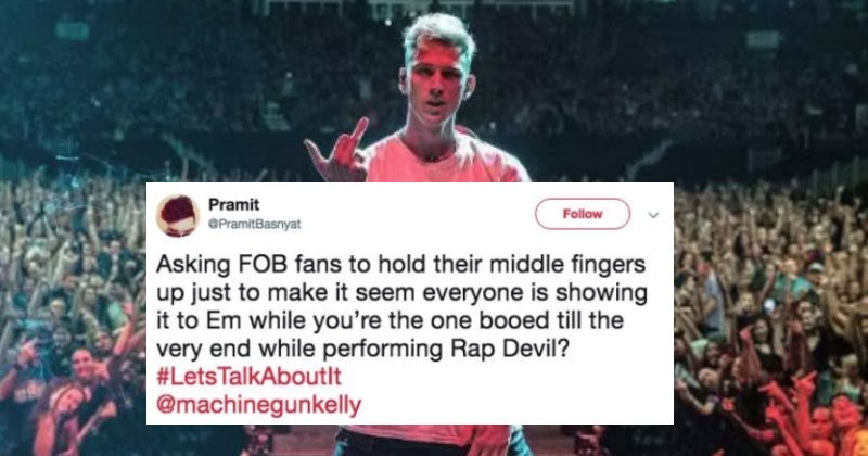 machine gun kelly roasted