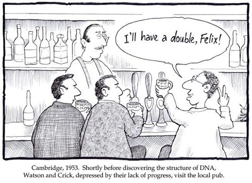double,science,DNA,watson and crick
