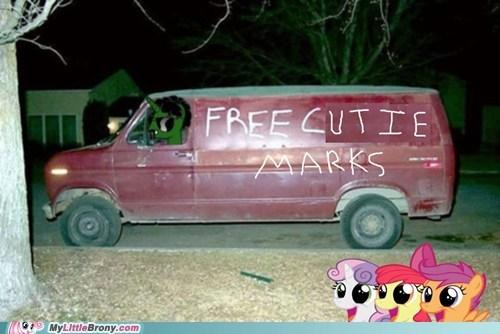 stranger danger,cutie mark crusaders,cutie marks