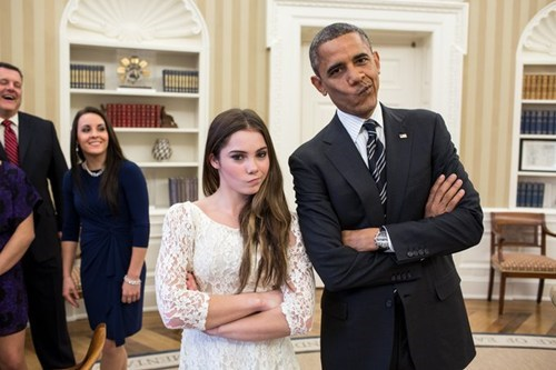 obama White house mckayla