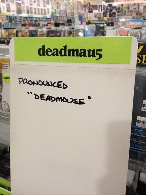 Deadmau5,record store
