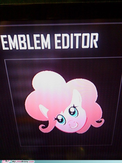 emblem,black ops 2,cute,pinkie pie