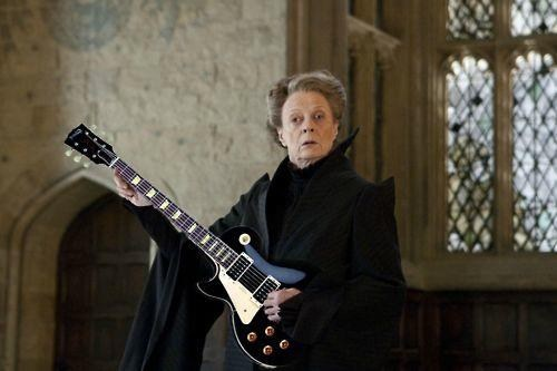 Les Paul,Harry Potter,guitars
