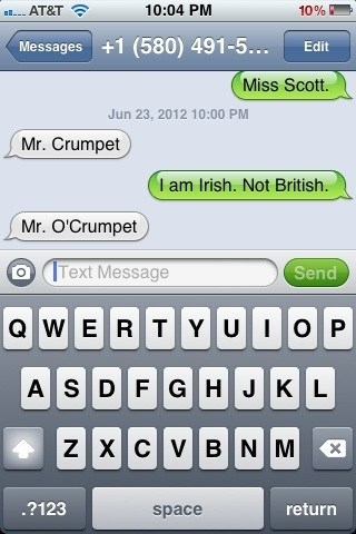 much better irish Crumpet British - 6787853312