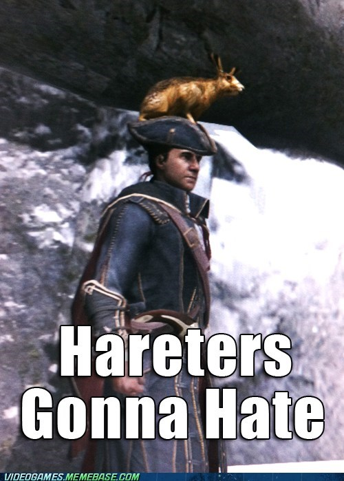 haters gonna hate haytham assassins creed - 6787860224