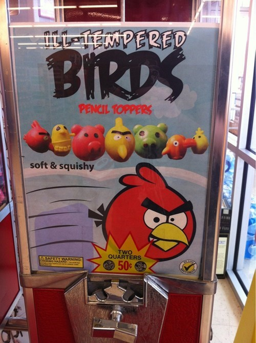 angry birds ill-tempered birds knockoffs - 6787964928