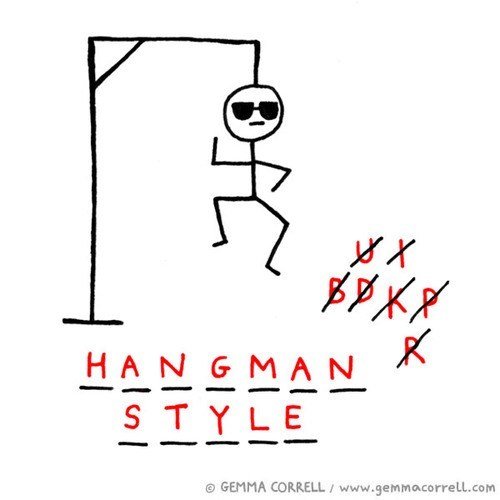 hangman gangnam style - 6788007424