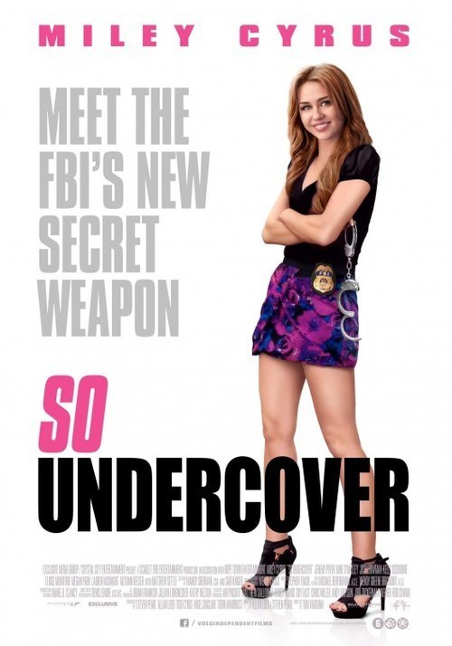 wtf poster Movie actor so undercover miley cyrus - 6788120832