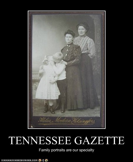 TENNESSEE GAZETTE Family portraits are our specialty